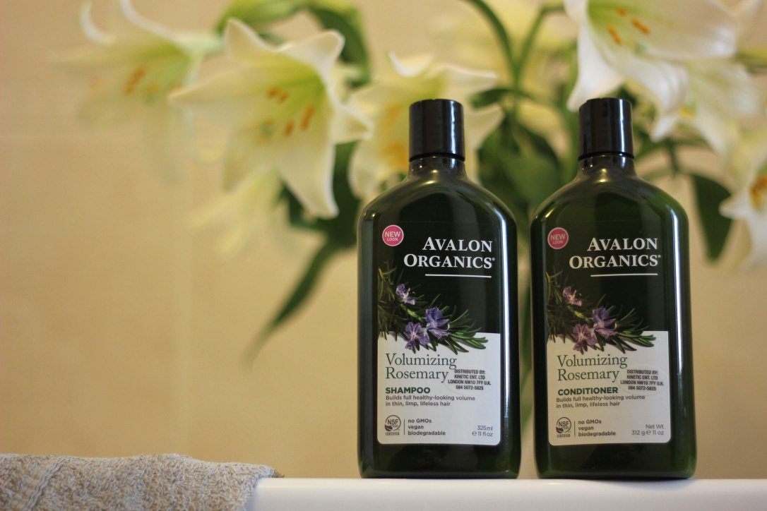 Avalon organics Rosemary haircare