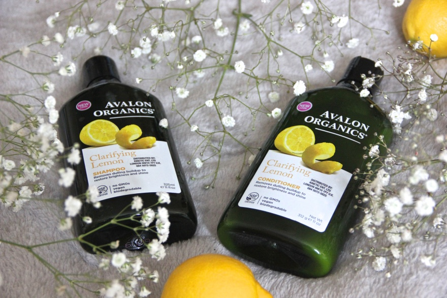 Avalon Organics Clarifying Lemon cruelty-free haircare products