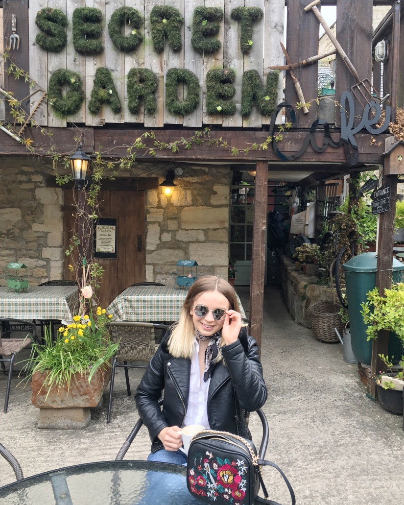 Coffee at the Secret Garden Cafe