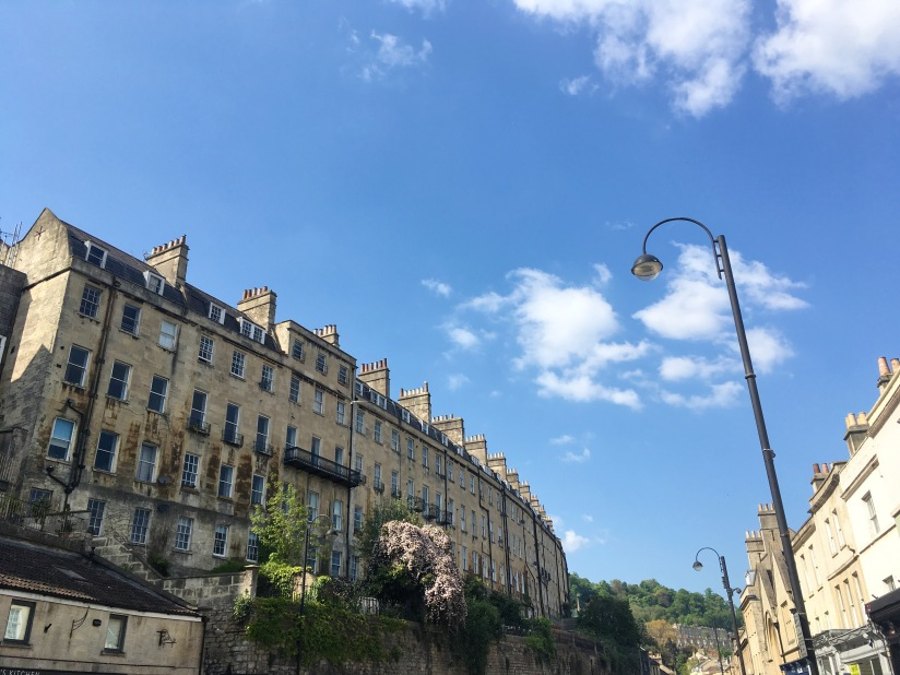 Pretty streets of Bath