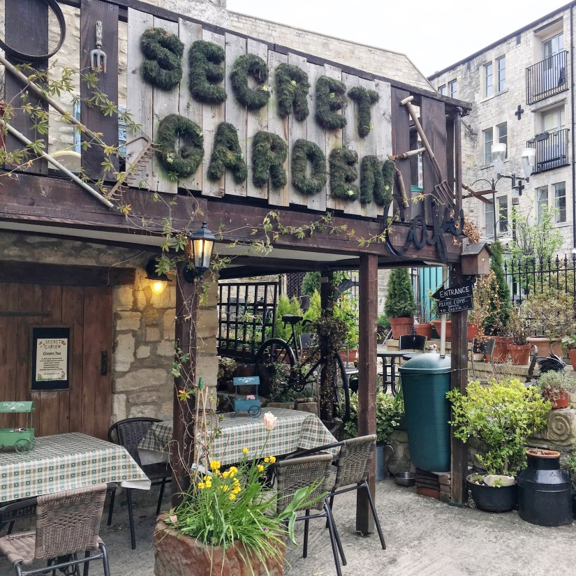 The Secret Garden Cafe Bradford on Avon