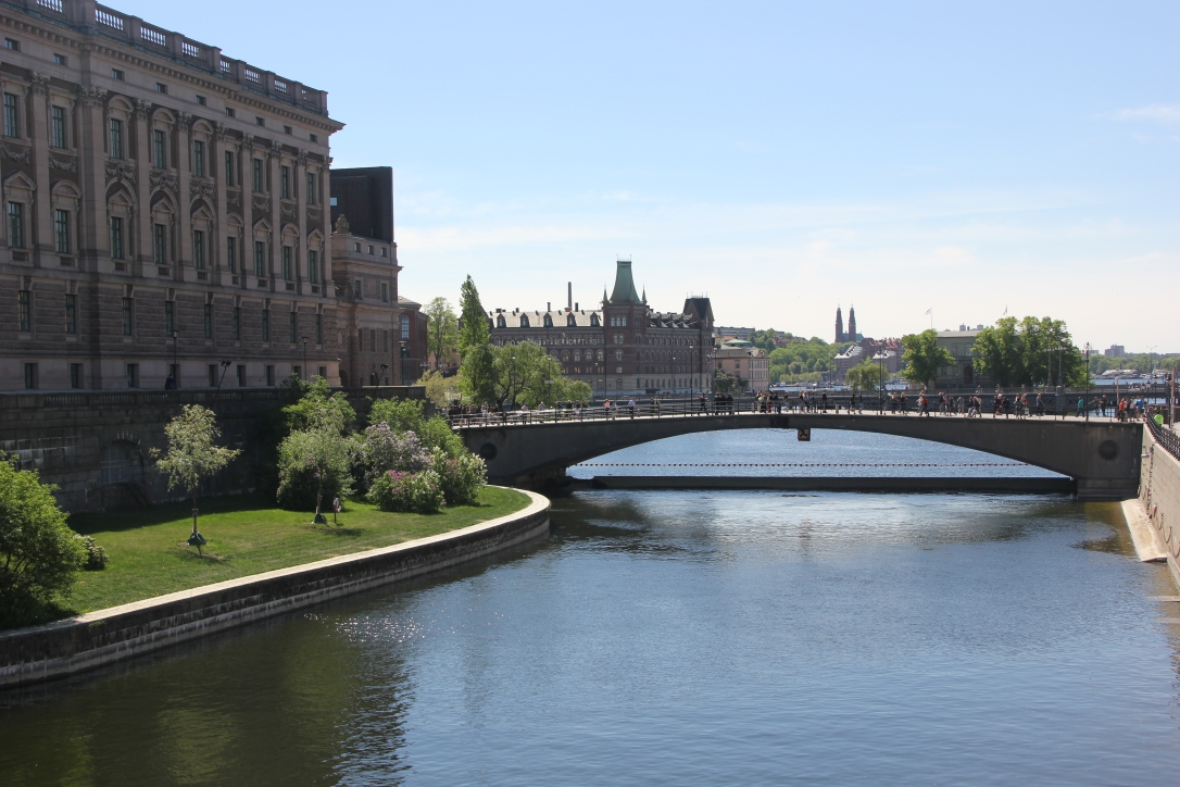 Bridge into Gamla Stan