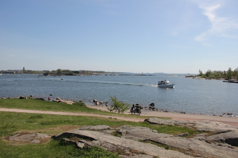 Cycling around Helsinki
