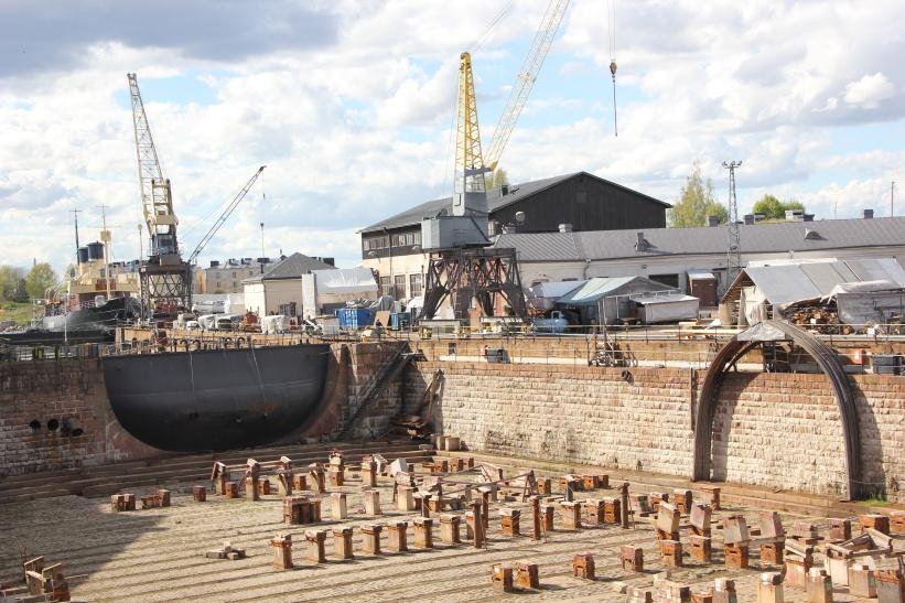 Dry dock Suomenlinna