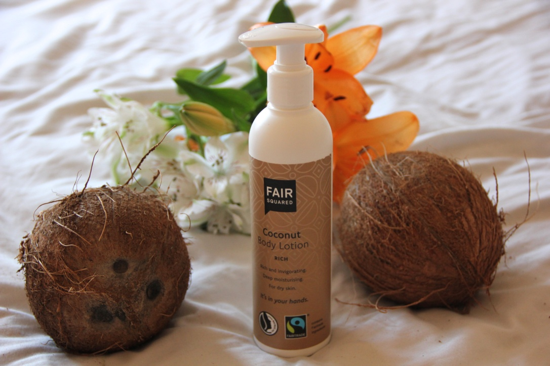 Fair Squared Coconut body lotion