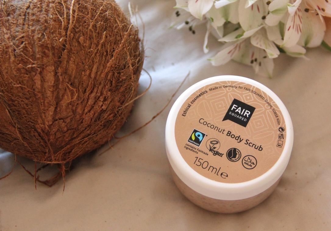 Fair Squared Coconut body scrub