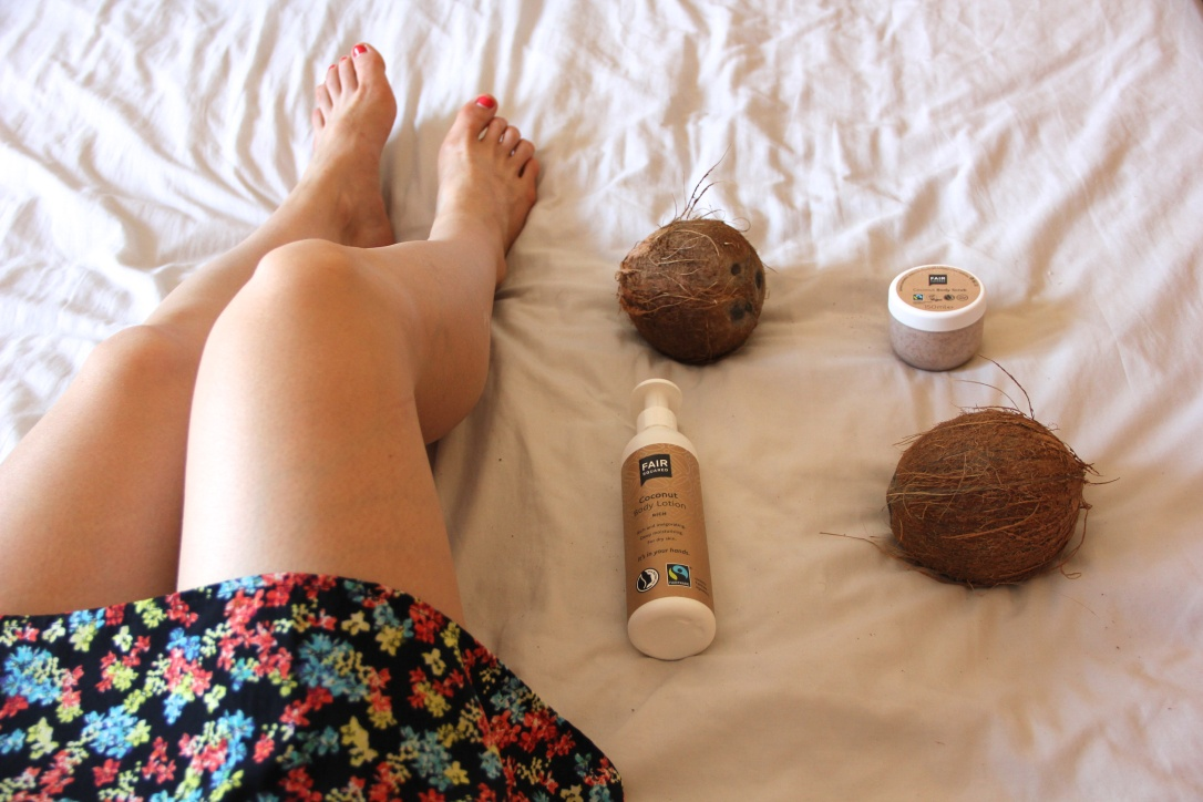 Fair Squared coconut vegan body products review