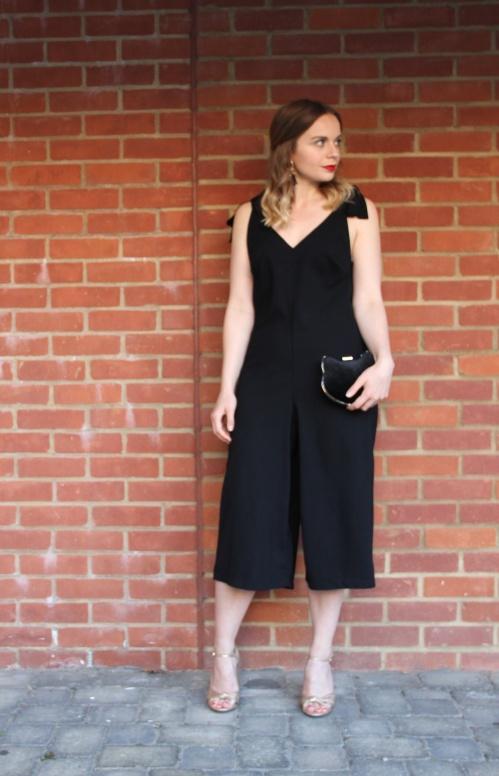 glam culotte jumpsuit