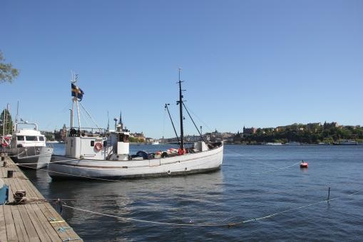 Harbourside in Stockholm