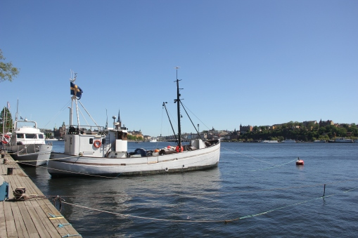 Harbourside in Stockholm