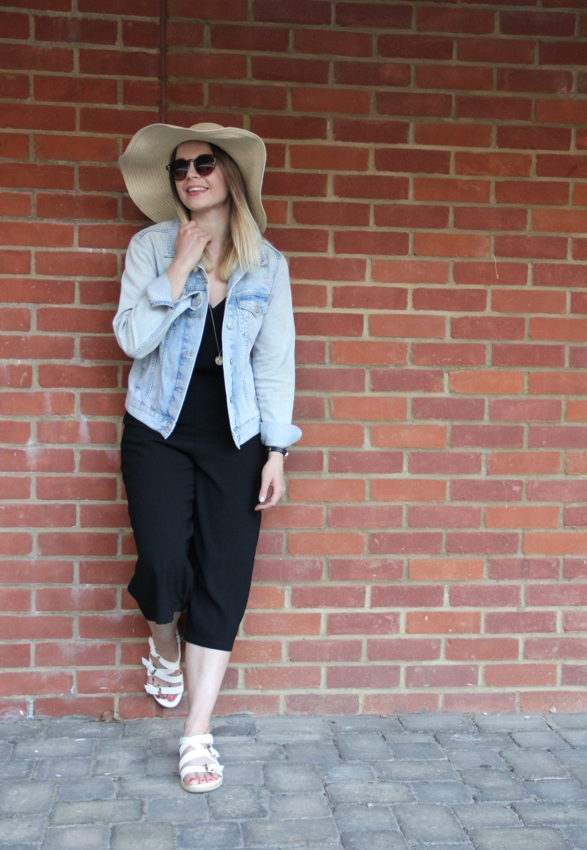 How to wear a culotte jumpsuit