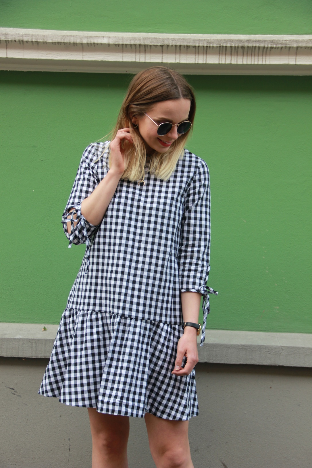 New Look gingham dress
