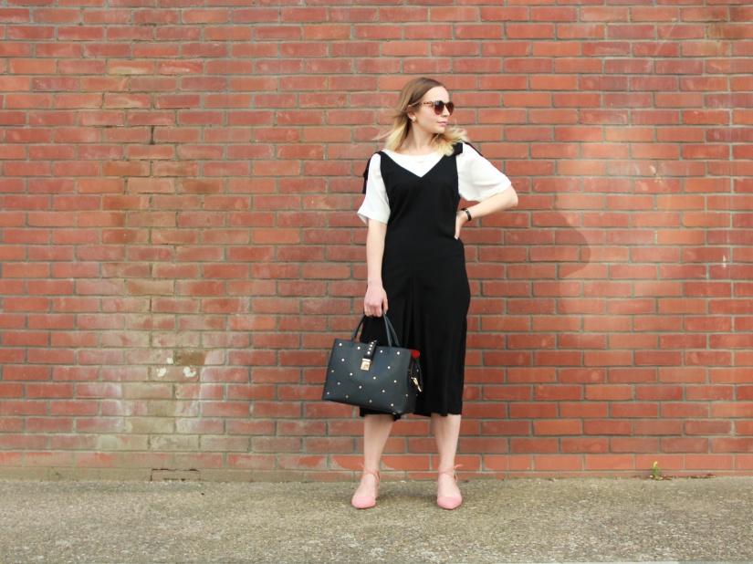 Styling a culotte jumpsuit