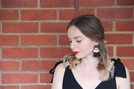 tasselled earrings