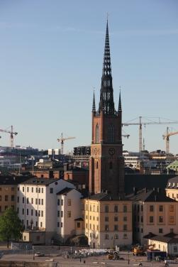 View from Monteliusvagen