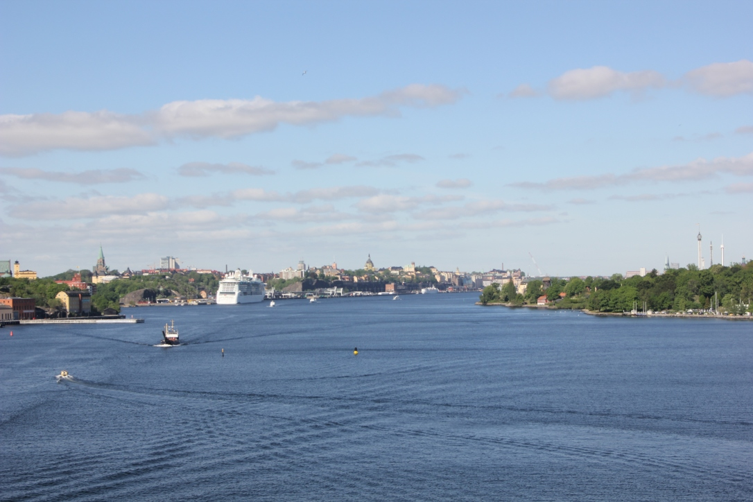 View of Stockholm from Gabriella