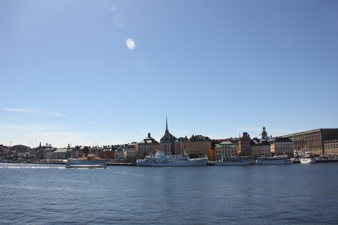 Views across Stockholm
