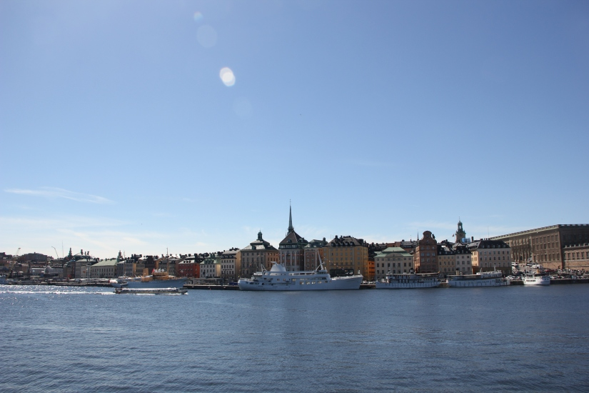 Views across Stockholm