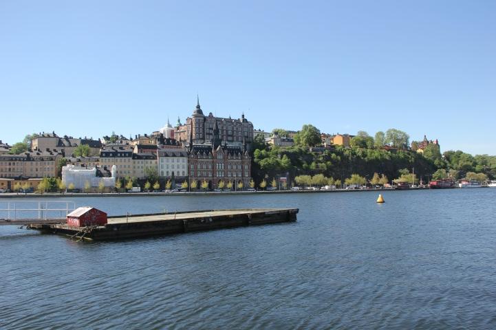 Walking into Stockholm