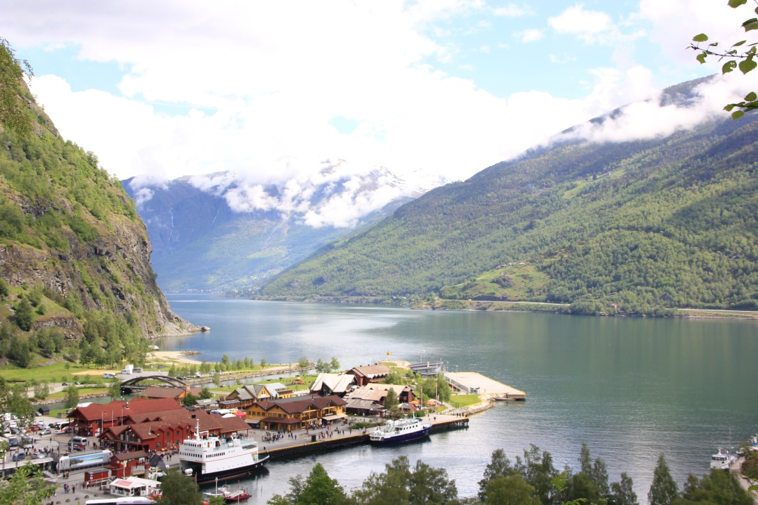 Amazing view Flam Norway in a Nutshell