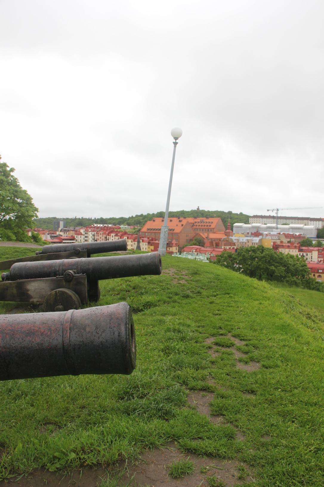Cannons at Skansen Kronan