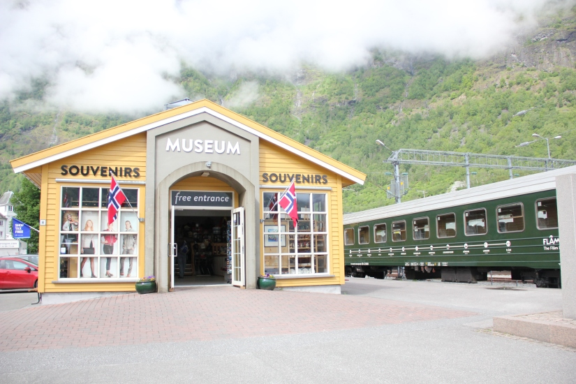 Flam museum and railway