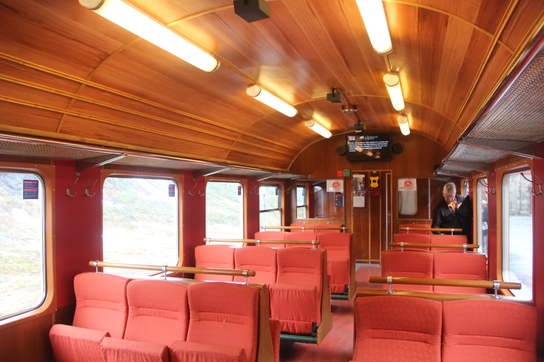 Flam railway train