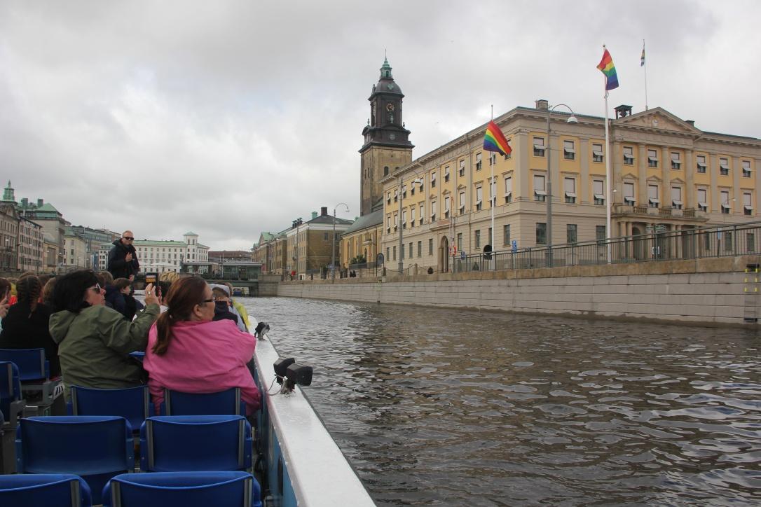 Gothenburg Paddan boat