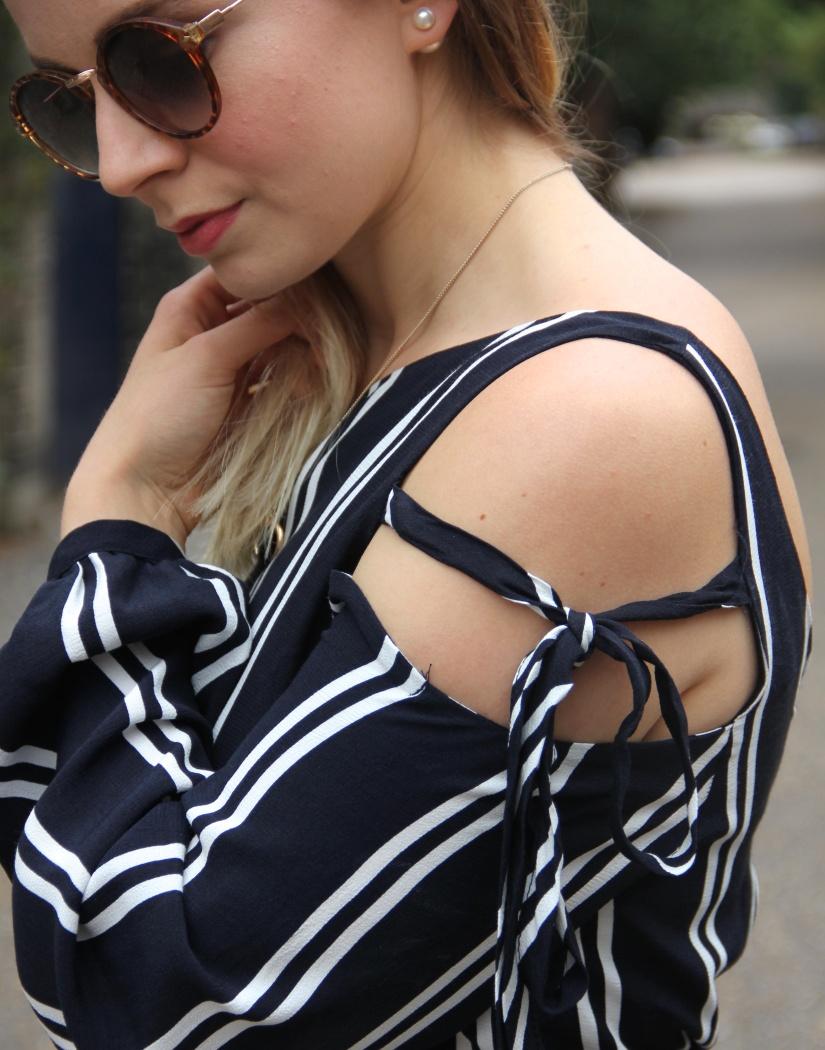 Navy Zara dress