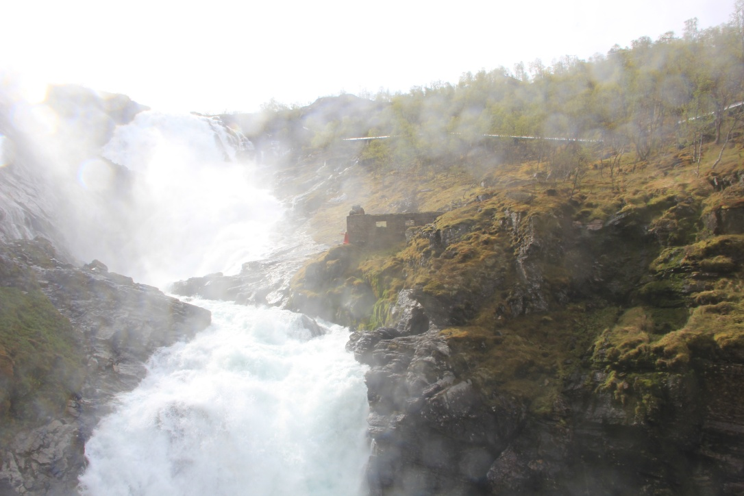 Norway in a Nutshell waterfall