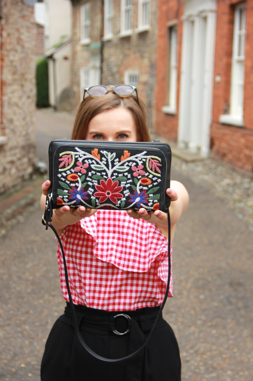 Parfois embroidered bag