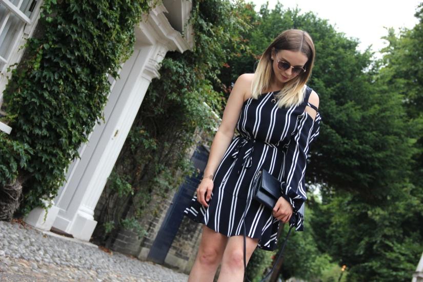 Striped Zara sale dress