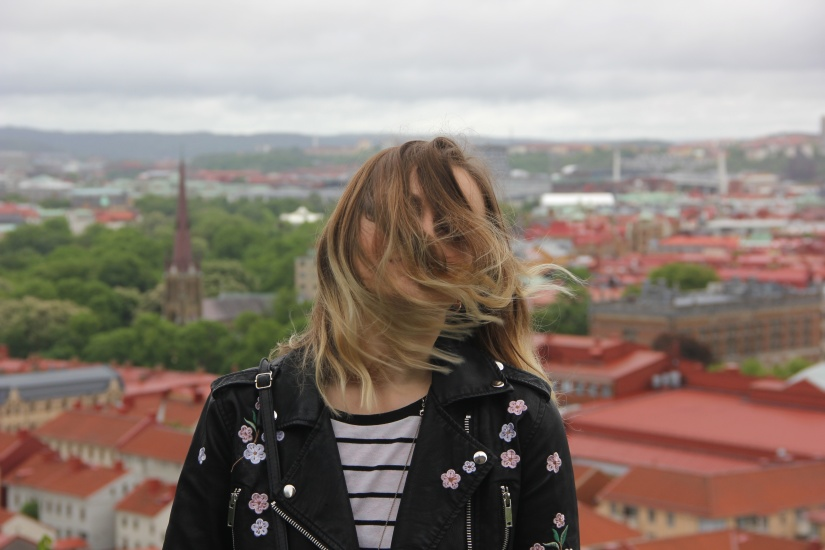 Windswept in Gothenburg