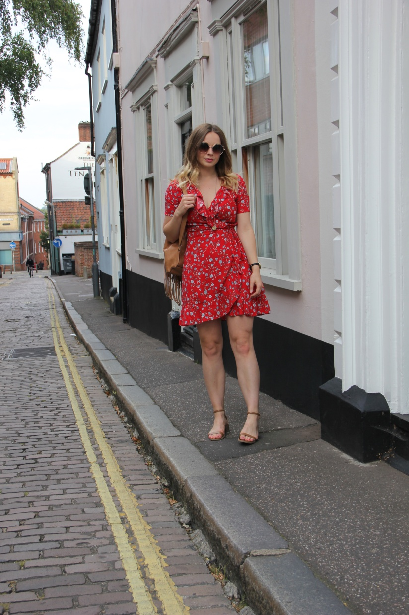 How to style a tea dress for summer