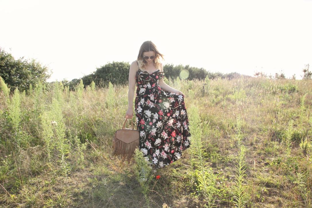 New Look floral maxi dress