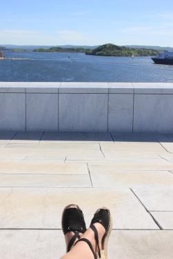 Oslo on a budget opera house