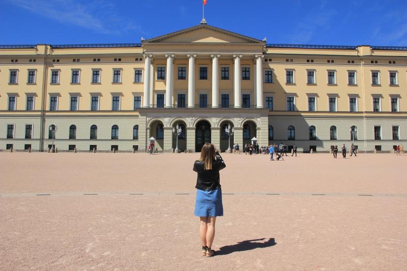 Oslo on a budget royal palace
