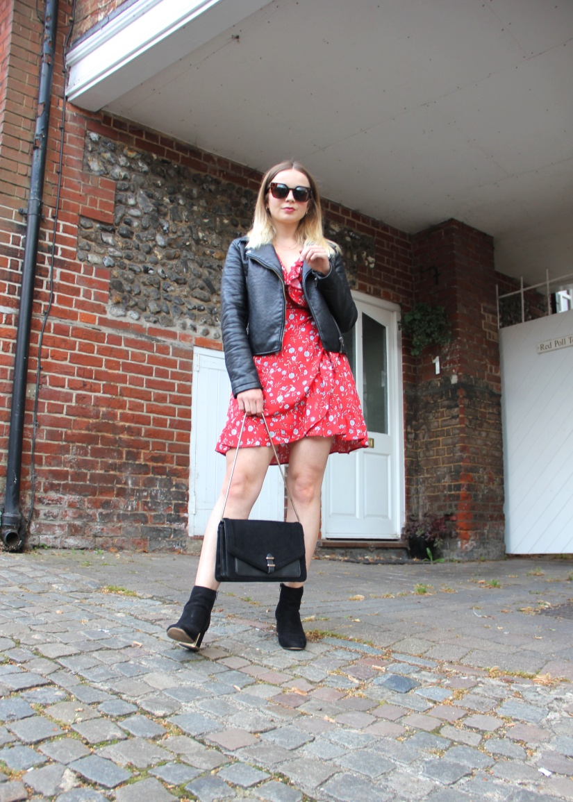 Styling a floral tea dress