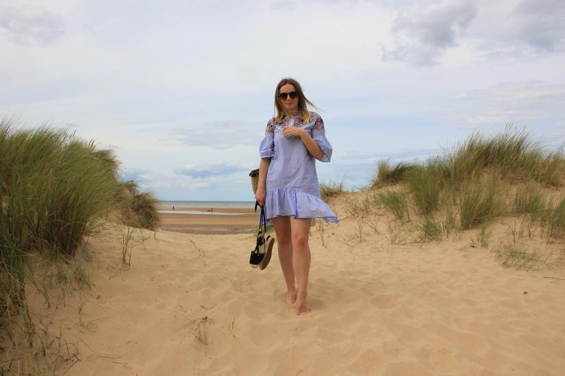 Summer beach dress