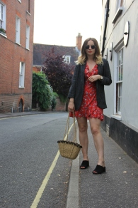 Ways to style a tea dress for work