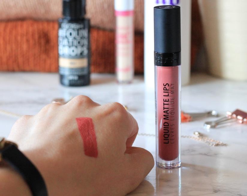 GOSH Matte Lips liquid lipstick review