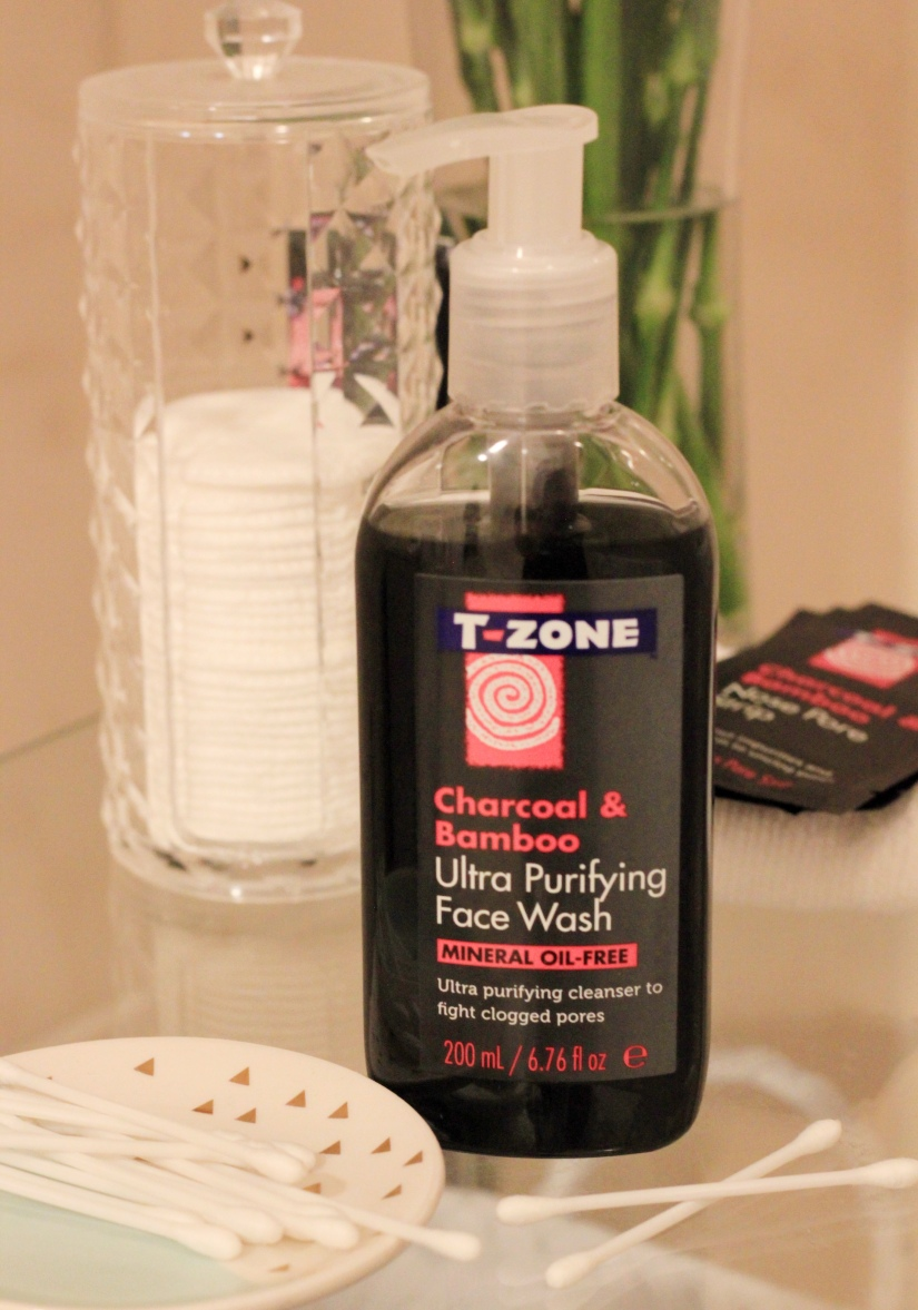 T-Zone Charcoal and Bamboo Ultra Purifying Face Wash Review