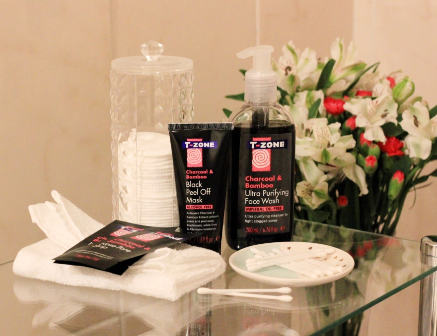 T-Zone Charcoal and Bamboo Black Skincare Review