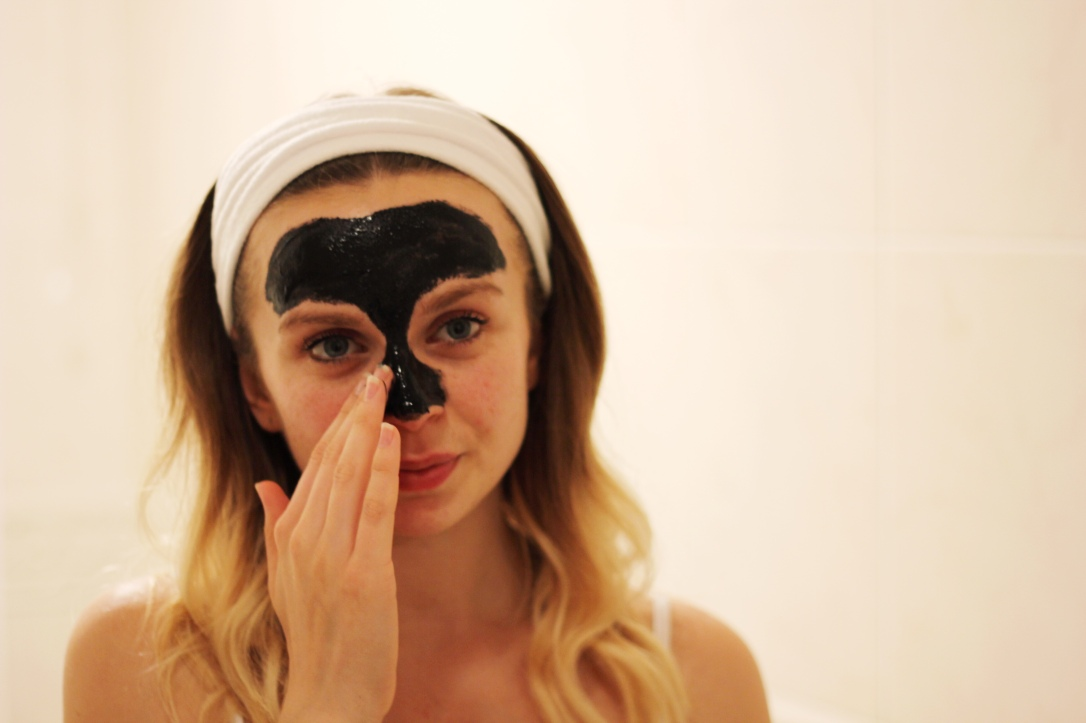 T-Zone Charcoal and Bamboo Black Peel Off Mask Review