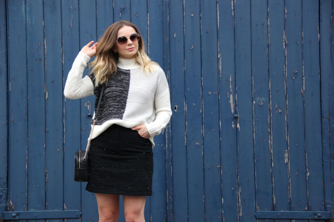 Matalan monochrome outfit