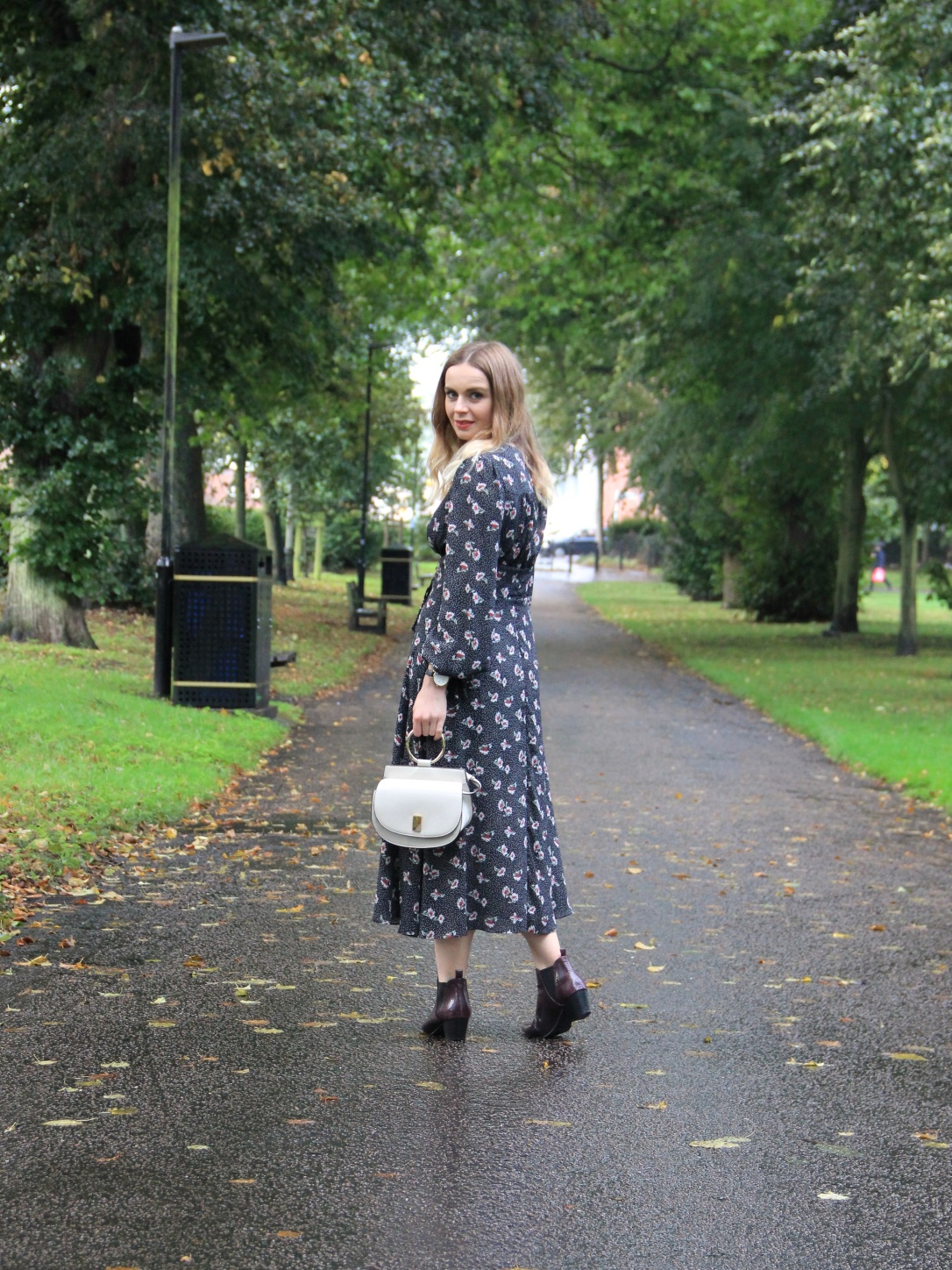 New Look autumnal dress