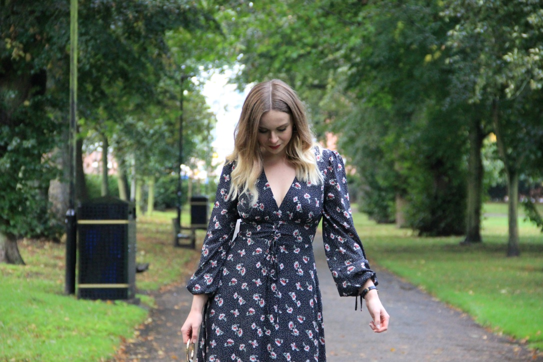 New Look Autumnal midi dress