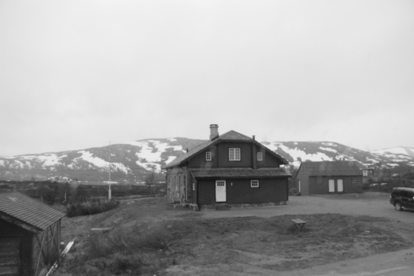 Train from Oslo to Bergen