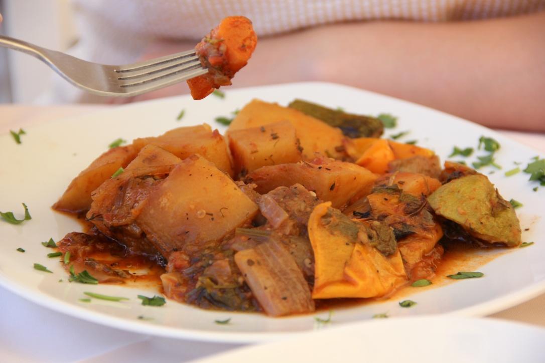 Eating Vegan in Rodos