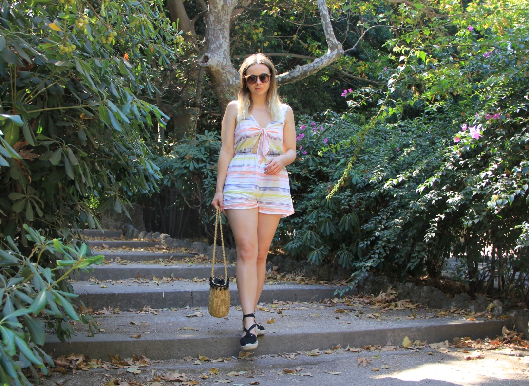 Holiday style daytime playsuit